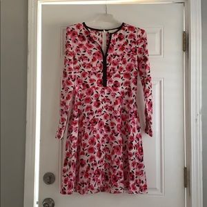 Kate Spade Floral Rose Dress